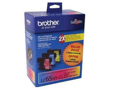 Brother 3 PAK CYAN MAGENTA YELLOW LC65HYCS LC65HYMS