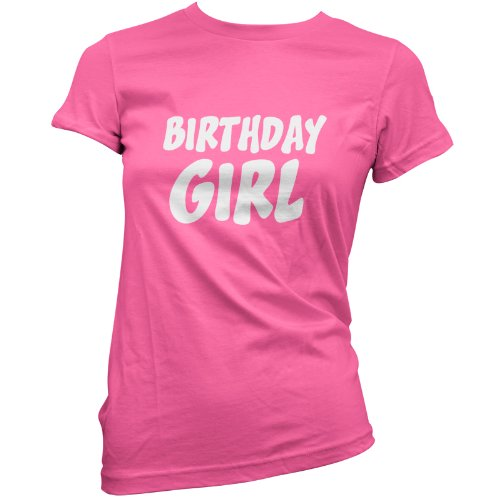 Birthday Girl - Womens T-Shirt - Birthtees - 8 colours
