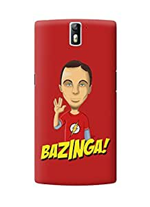 The Fappy Store bazinga plastic Back Cover for Oneplus one