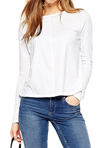 de-manga-larga-camisa-causal-raja-de-la-mujer-en-la-parte-posterior-white-m
