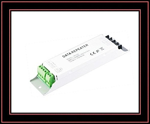 Free Shipping 3-Channel General Repeater Rp306 A004 Rgb Led Power Amplifier Led Power Repeater Pwm Signal 24V 12V