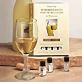 White Wine Tasting Kit Inlcudes 10 Aromas,Tasting Cards,Test Strips And Informative Booklet