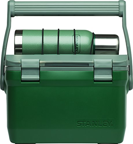 Stanley Adventure Cooler 7QT  + Vacuum Bottle 25oz Combo Hammertone Green (Coolers Thermos compare prices)
