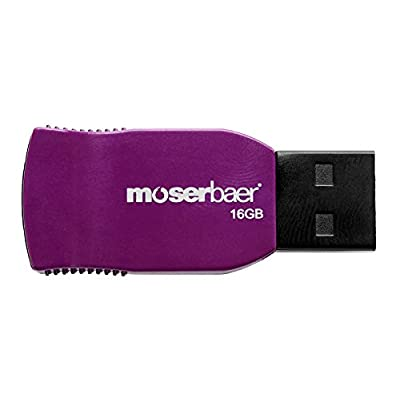 Moserbaer 16GB Racer Pendrive Purple
