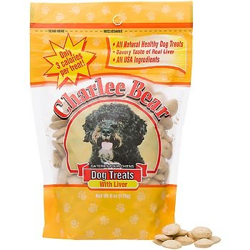 Charlee Bear Dog Treat, Liver