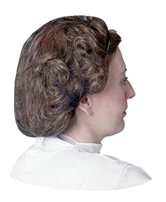 "Impact 7386B28 Nylon Honeycomb Hair Nets, 28"" Diameter, Brown (Case of 1000)"