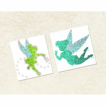 Amscan Tinker Bell Best Friends Fairies Body Jewelry Favor, Multicolor