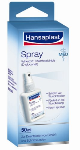HANSAPLAST med Wunddesinfektionsspray, 50 ml