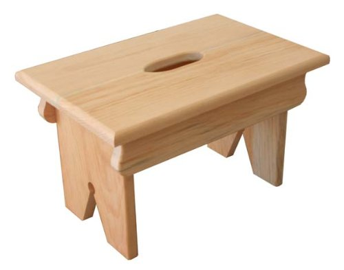 Pine Footstool