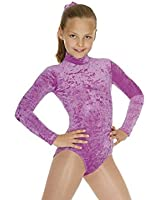 New Girls velour long sleeved dance leotard/Gymnastic Leotard all sizes