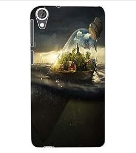 ColourCraft Creative Image Design Back Case Cover for HTC DESIRE 820