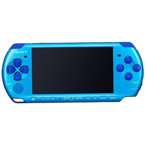 PSP「プレイステーション・ポータブル」 バリュー・パック スカイブルー/マリンブルー (PSPJ-30027)【メーカー生産終了】