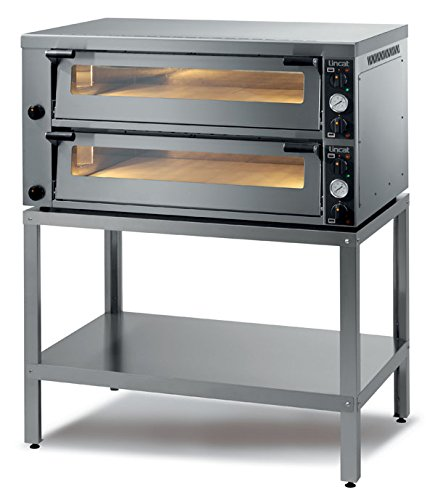 Lincat Pizza Oven Twin deck Pizza Equipment Single and twin deck pizza ovens - ideal for restaurants, pizzerias, takeaways, cafés and fast food outlets Size (HxWxD) 675 x 1286 x 1002 (mm) POWER 14.4KW , Weight 206