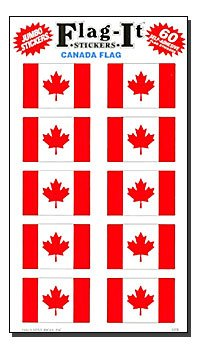 Canada - Country Stickers (60 Pack)