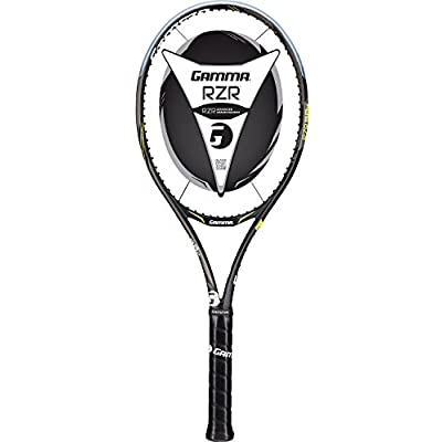 Gamma Sports RZR 98M Tennis Racquet - Grip Size 5/8, 39572/White