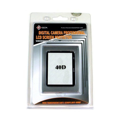 GGS DSLR LCD Optical Glass Screen Protector for Canon EOS 40D, 50D camera