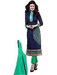 Fashion Galleria Women's Printed Unstitched Regular Wear Salwar Suits For Women Dress Material (salwarsuits_dresses...