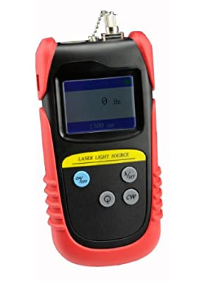 TLD7002A Hand Held Optical Laser Light Source Dual Wavelength 850&1300nm