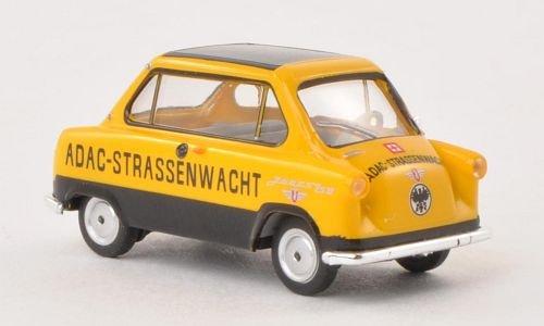 Zndapp-Janus-ADAC-Strassenwacht-Modellauto-Fertigmodell-Herpa-187