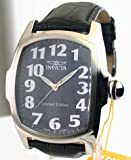Mens Invicta Leather Lupah Dragon Limited MOP Date Watch 6405
