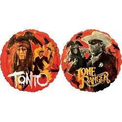 "18"" Lone Ranger & Tonto Hx - 1"