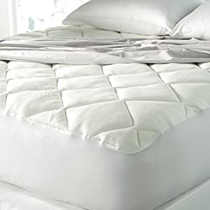Spa Luxury Bamboo Blend Top Mattress Pad by Downlite