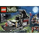 Toy / Game LEGO Monster Fighters 9464 The Vampyre Hearse - Moonstone And 4 Weapons With Catapult Function
