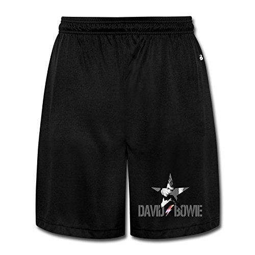 ASCHO2 Men's David Bowie Running Short With Pockets