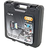 Vax Car Kit - Contains TuboTool, Flexi Crevice Tool, Flat Upholstery Tool, Cleaning Accessories and Carry Case