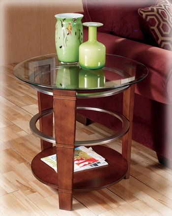 Pisa Round End Table By Ashley Furniture