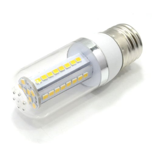 Zono E27 48Pcs Smd 2835 7W Led Corn Light Lamp Bulb With Transparent Cover Ac 85-265V 50 Pcs Lot
