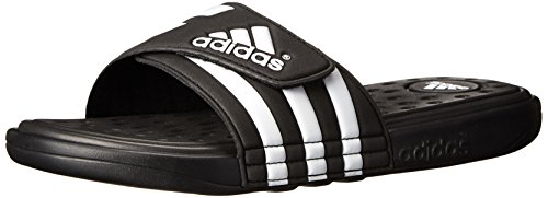 Adidas Men'S Adissage Uf+ Sandal,Black/White/Black,12 D(M) Us front-1067887