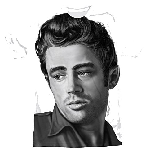 James Dean Stare All Over Front T-Shirt DEA477SAT