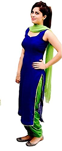 Trendy Women's Straight Georgette Suit Unstitch Material