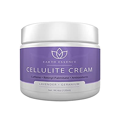 (3 Pack) Best Anti-Cellulite Treatment Cream (Lavender) - Proven Ingredients for Cellulite Reduction: Caffeine, Collagen, & MORE, Scented w/ Pure Lavender EO