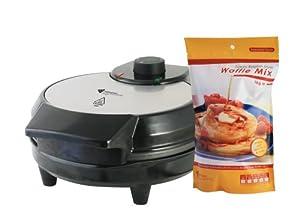 Belgian Waffle Maker with 1kg Luxury Belgian Waffle Mix