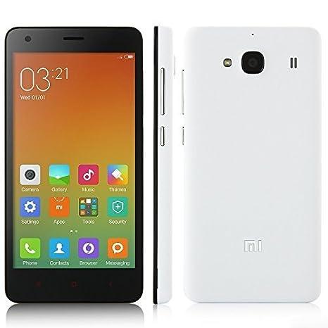 XIAOMI HONGMI REDMI 2 2GB Qualcomm Snapdragon 410 1.2GHz 64-bit Quad Core HD Écran 4.7 Pouces 4G LTE MIUI 6 Smartphone (Blanc)