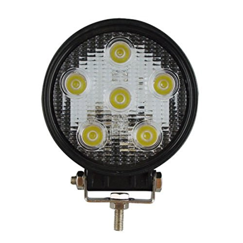Zxmoto 1Pcs 18W Led Work Light Spot Beam Round Lamp For Tractor Offraod Truck Jeep 4X4 Suv Atv Utv