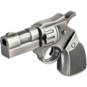 High Quality 32 GB Metal Gun shape USB Flash drive