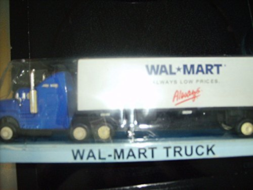 Wal-Mart Truck 1/64 scale Wal-Mart Exclusive (Toy Walmart Truck compare prices)