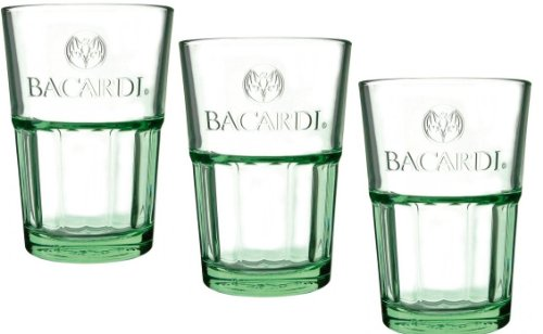 Bacardi Mojito Glas grün 6er Gastro Edition