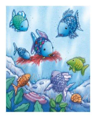Alexander Hamawi The Rainbow Fish V Art Print Poster - 10x12