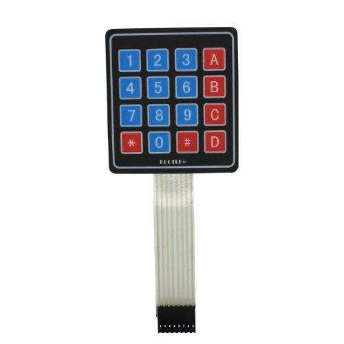 niceeshop(TM) 4x4 Universial 16 Schlüsselschalter Tastatur Tastatur für Arduino