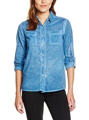 Pepe Jeans London Camisa Mujer Noli (Azul Claro)