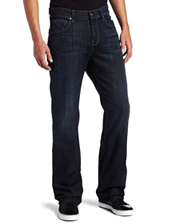 7 For All Mankind Men's Austyn Relaxed Straight Leg Jean in Driftwood Storm, Driftwood Storm, 38