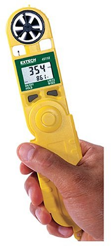 Extech 45118 Mini Waterproof Thermo Anemometer