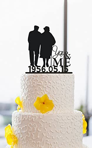 Wedding Gifts For Parents Amazon : ... Golden Wedding Cake Toppers Anniversary Gifts for Parents: Handmade