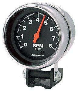 Auto Meter 1409 Designer Black Quad Gauge//Tach//Speedo Kit