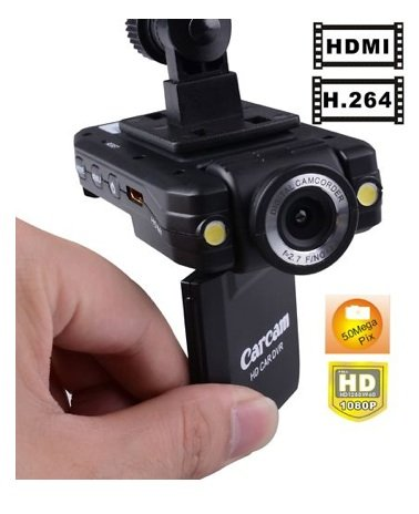 Car Dashboard Camera Car Accident DVR with LCD and 140 degree wide angle lense IR NIght Vision HD