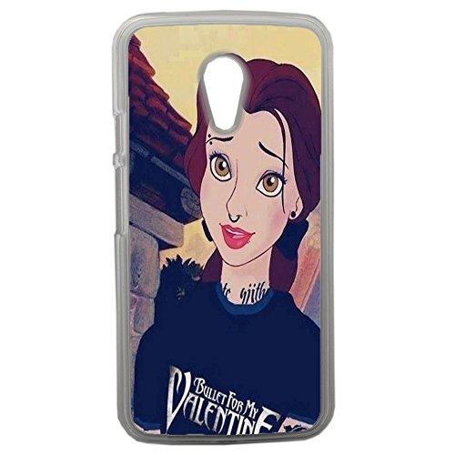 Original Disney Princess Lapinette schwarz Schutzhülle für Motorola Moto G21